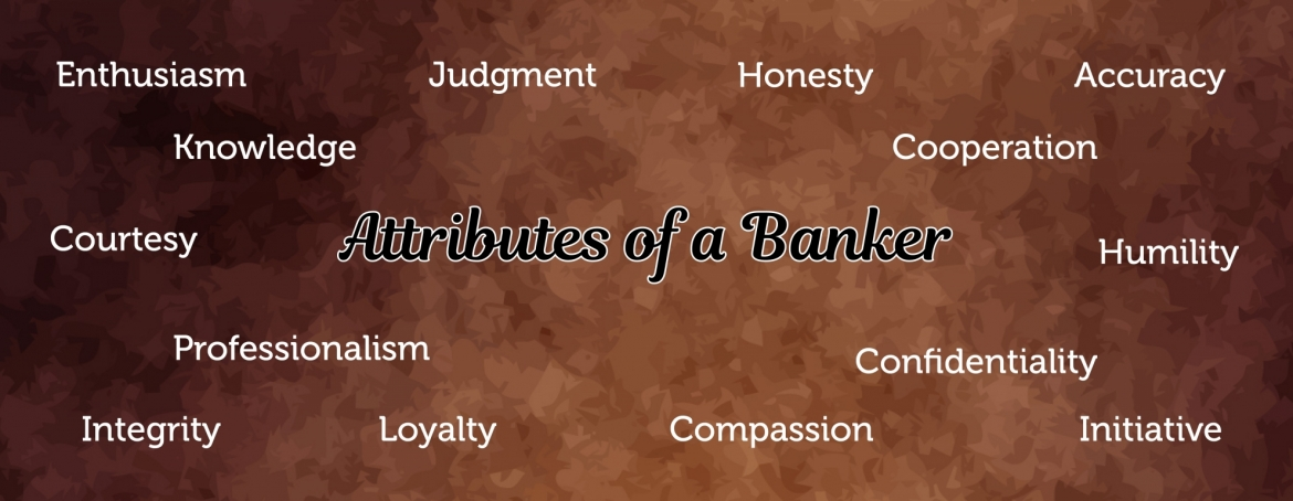 Attributes of a Banker Image