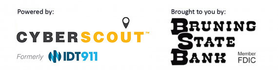 Cyberscout & Bruning Bank Logos
